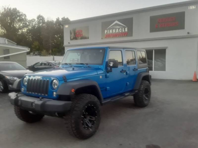 2016 Jeep Wrangler Unlimited for sale at Jay's Automotive in Westfield NJ