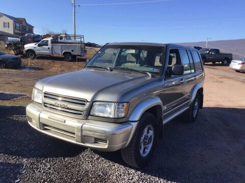 2000 Isuzu Trooper for sale at Troys Auto Sales in Dornsife PA