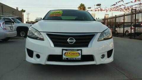 2015 Nissan Sentra for sale at El Guero Auto Sale in Hawthorne CA