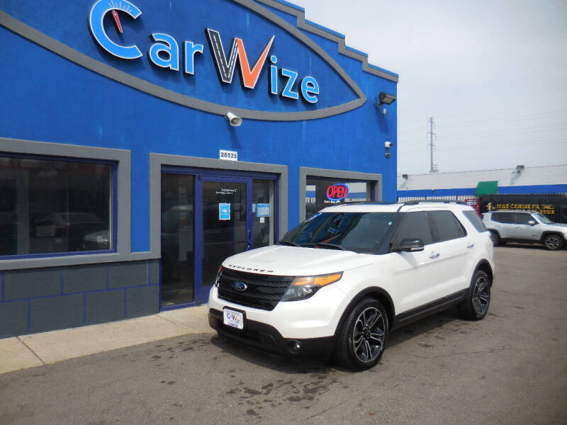 2013 Ford Explorer for sale at Carwize in Detroit MI