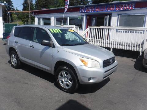 2008 Toyota RAV4 for sale at 777 Auto Sales and Service in Tacoma WA