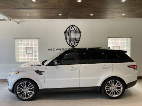 2016 Land Rover Range Rover Sport for sale at Midwest Car Connect in Villa Park IL