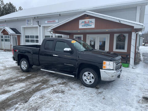 2012 Chevrolet Silverado 1500 for sale at M&A Auto in Newport VT