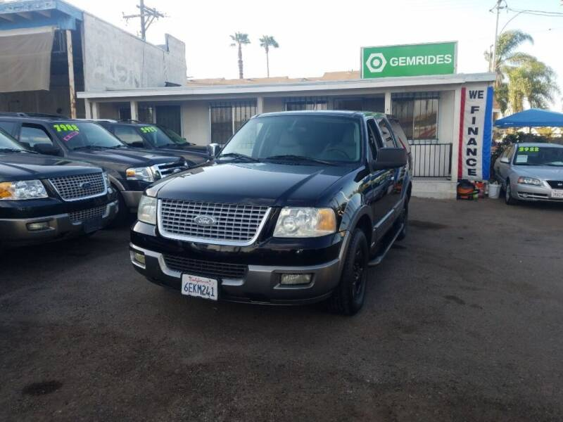 2004 Ford Expedition for sale at GemRides in San Diego CA
