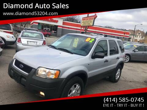 2002 Ford Escape for sale at Diamond Auto Sales in Milwaukee WI