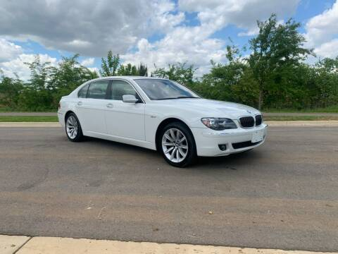 2007 BMW 7 Series for sale at Tennessee Valley Wholesale Autos LLC in Huntsville AL