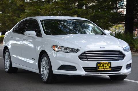 2013 Ford Fusion Hybrid for sale at Brand Motors llc in Belmont CA