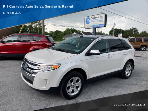 2013 Ford Edge for sale at R J Cackovic Auto Sales, Service & Rental in Harrisburg PA