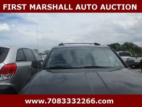 2007 Jeep Grand Cherokee for sale at First Marshall Auto Auction in Harvey IL