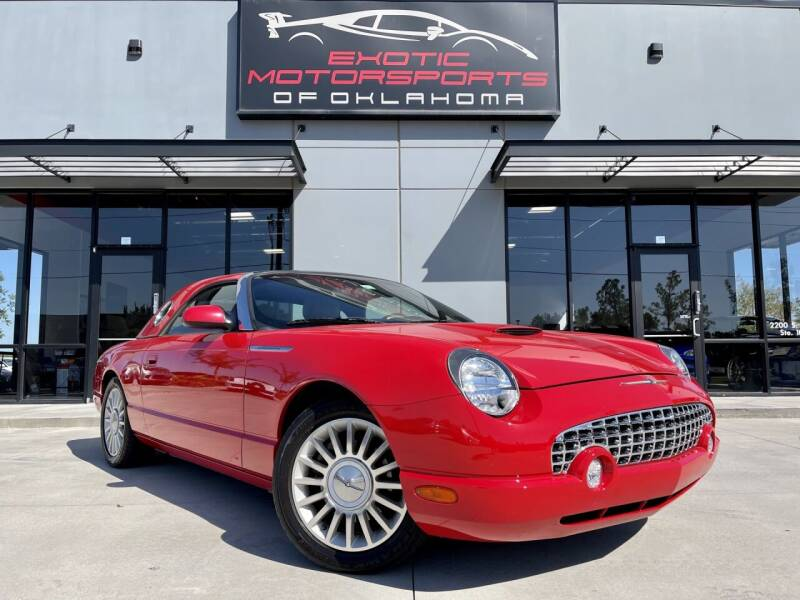 2005 Ford Thunderbird for sale at Exotic Motorsports of Oklahoma in Edmond OK