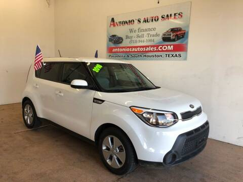 2016 Kia Soul for sale at Antonio's Auto Sales - Antonio`s  2206 in Pasadena TX
