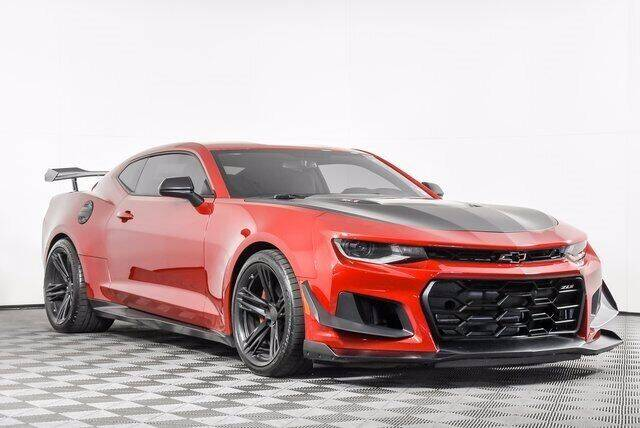 2018 Chevrolet Camaro for sale at Washington Auto Credit in Puyallup WA