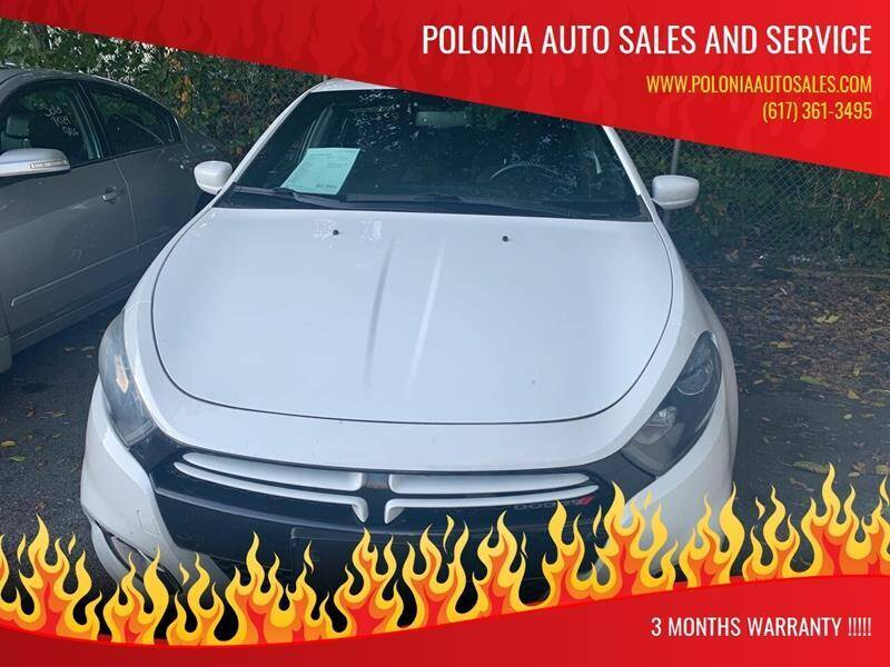 2013 Dodge Dart for sale at Polonia Auto Sales and Service in Hyde Park MA