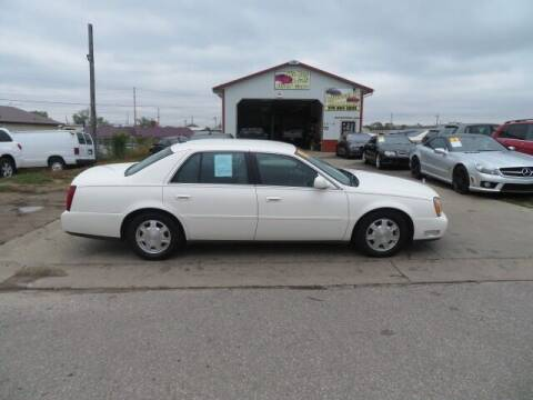 2005 Cadillac DeVille for sale at Jefferson St Motors in Waterloo IA