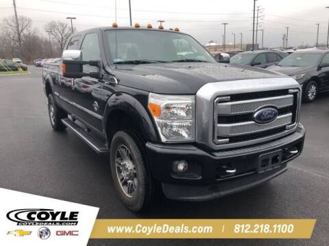 2014 Ford F-250 Super Duty for sale at COYLE GM - COYLE NISSAN in Clarksville IN
