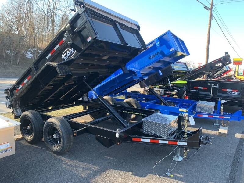 2021 Cam Superline 6x10 HD Dump  for sale at Smart Choice 61 Trailers in Shoemakersville PA