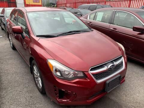 2013 Subaru Impreza for sale at Boston Road Auto Mall Inc in Bronx NY
