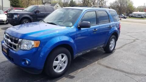 2011 Ford Escape for sale at Advantage Auto Sales & Imports Inc in Loves Park IL