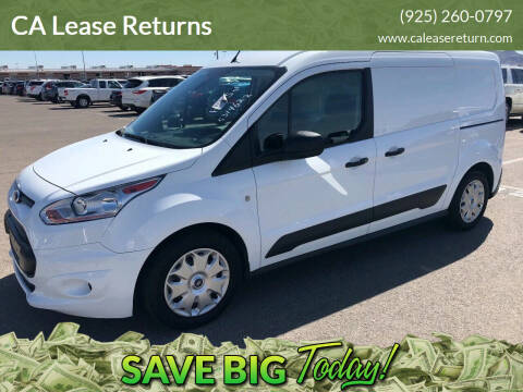 2016 Ford Transit Connect Cargo for sale at CA Lease Returns in Livermore CA