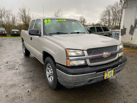 2005 Chevrolet Silverado 1500 for sale at A & M Auto Wholesale in Tillamook OR