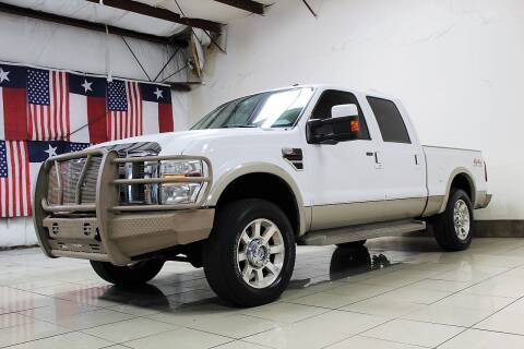 2008 Ford F-250 Super Duty for sale at ROADSTERS AUTO in Houston TX