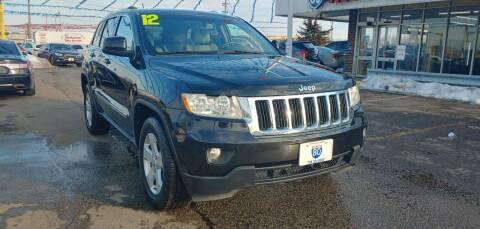 2012 Jeep Grand Cherokee for sale at I-80 Auto Sales in Hazel Crest IL