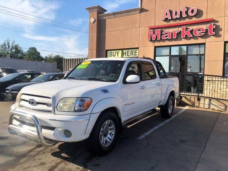 2006 Toyota Tundra for sale at Auto Market in Oklahoma City OK