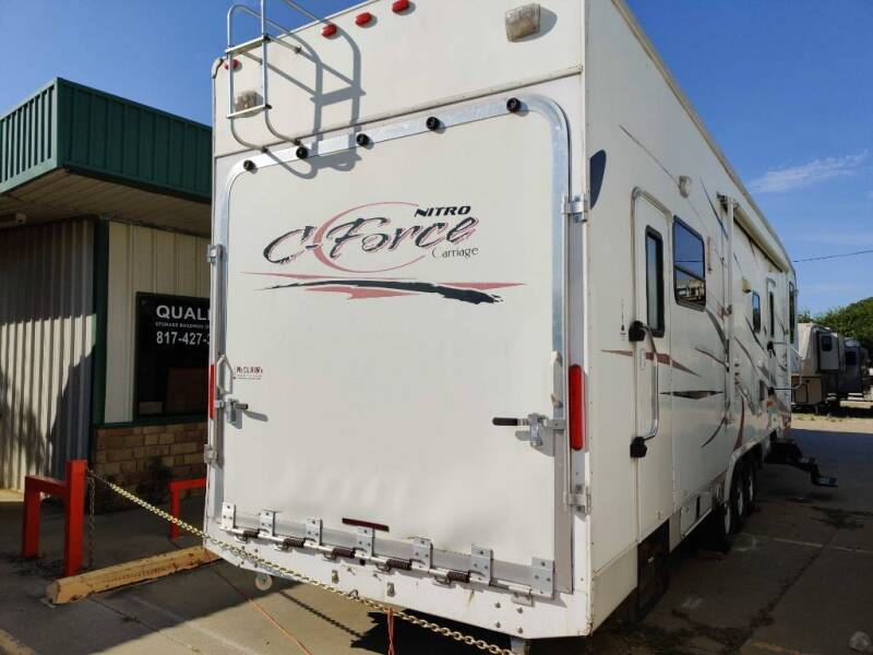 2007 Carriage CFORCE NITRO for sale at Texas RV Trader in Cresson TX