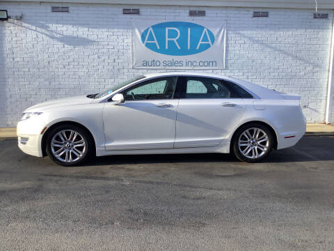 2016 Lincoln MKZ for sale at ARIA  AUTO  SALES in Raleigh NC