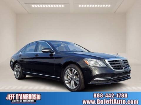 2018 Mercedes-Benz S-Class for sale at Jeff D'Ambrosio Auto Group in Downingtown PA