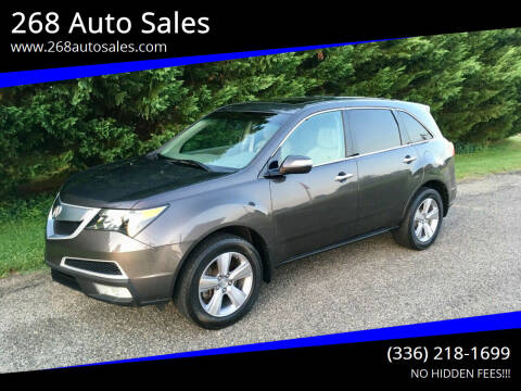 2011 Acura MDX for sale at 268 Auto Sales in Dobson NC