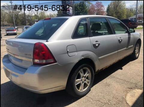 2005 Chevrolet Malibu Maxx for sale at KRIS RADIO QUALITY KARS INC in Mansfield OH