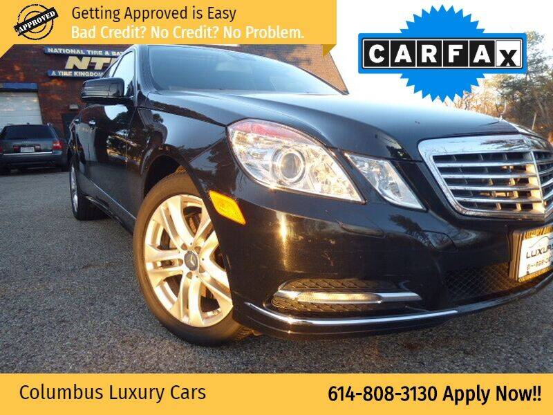 2011 Mercedes-Benz E-Class for sale at Columbus Luxury Cars in Columbus OH