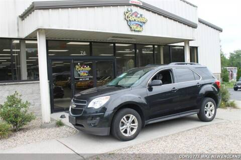 2015 Chevrolet Equinox for sale at Corvette Mike New England in Carver MA