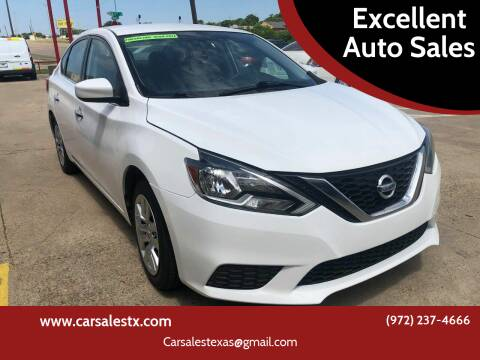 2016 Nissan Sentra for sale at Excellent Auto Sales in Grand Prairie TX