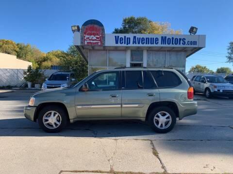 2002 GMC Envoy for sale at Velp Avenue Motors LLC in Green Bay WI
