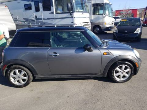 2010 MINI Cooper for sale at Freds Auto Sales LLC in Carson City NV