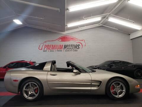 2001 Chevrolet Corvette for sale at Premium Motors in Villa Park IL