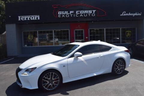 2017 Lexus RC 200t for sale at Gulf Coast Exotic Auto in Biloxi MS