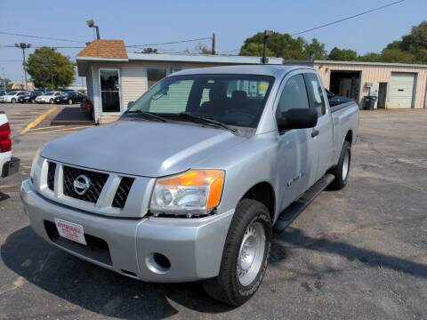 2008 Nissan Titan for sale at Affordable Autos in Wichita KS