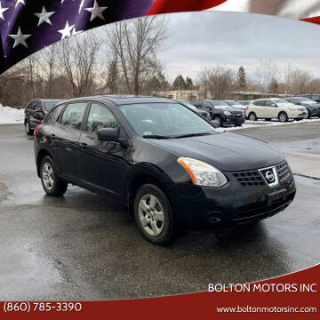 2008 Nissan Rogue for sale at BOLTON MOTORS INC in Bolton CT