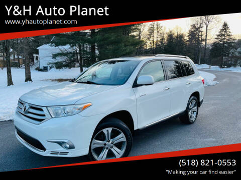 2011 Toyota Highlander for sale at Y&H Auto Planet in West Sand Lake NY