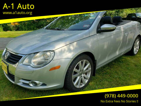 2011 Volkswagen Eos for sale at A-1 Auto in Pepperell MA
