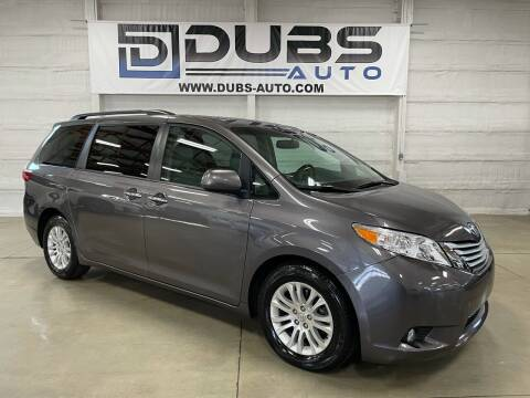 2017 Toyota Sienna for sale at DUBS AUTO LLC in Clearfield UT
