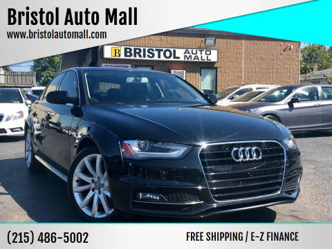 2014 Audi A4 for sale at Bristol Auto Mall in Levittown PA
