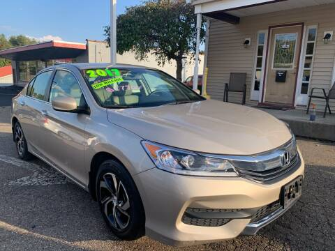 2017 Honda Accord for sale at G & G Auto Sales in Steubenville OH