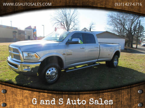 2016 RAM Ram Pickup 3500 for sale at G and S Auto Sales in Ardmore TN
