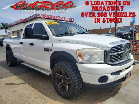 2009 Dodge Ram Pickup 3500 for sale at CARCO SALES & FINANCE - CARCO OF POWAY in Poway CA
