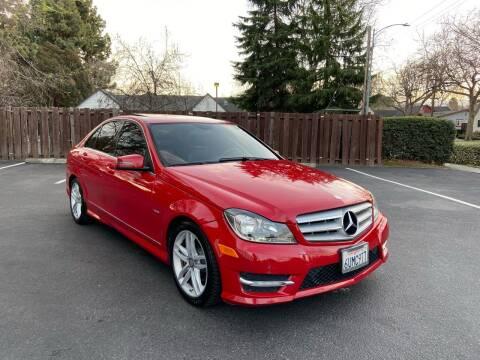 2012 Mercedes-Benz C-Class for sale at OPTED MOTORS in Santa Clara CA