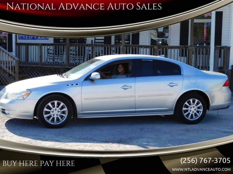 2011 Buick Lucerne for sale at National Advance Auto Sales in Florence AL